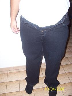 Wearing my goal jeans