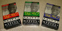 Tae Bo Billy Blanks Video Cassette Workout