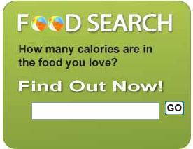 Diet Bug Calorie Food Search Tool