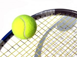 Tennis Racket and Tennis Ball Picture
