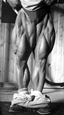 Tom Platz Legs Front Quadriceps