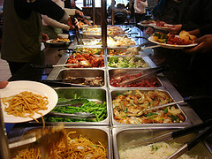 Chinese Buffet Food