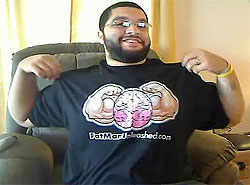 Fat Man Unleashed T shirt Contest