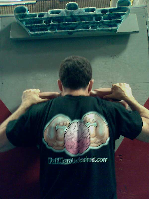 Fat Man Unleashed gym Climbing