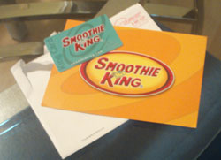 Smoothie King King Card gift card