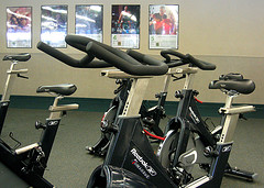 Bikes in a Gym