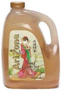 Arizona Diet Green Tea with Ginseng Pic