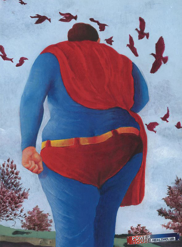 Fat Superman, Power House Health Club: Superman