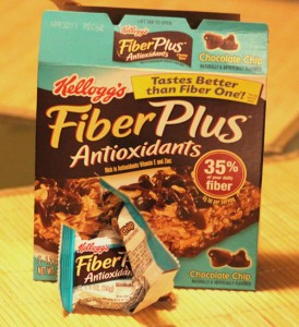 Kelloggs&#039;s Fiber Plus bars