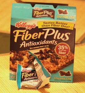 Kelloggs's Fiber Plus bars