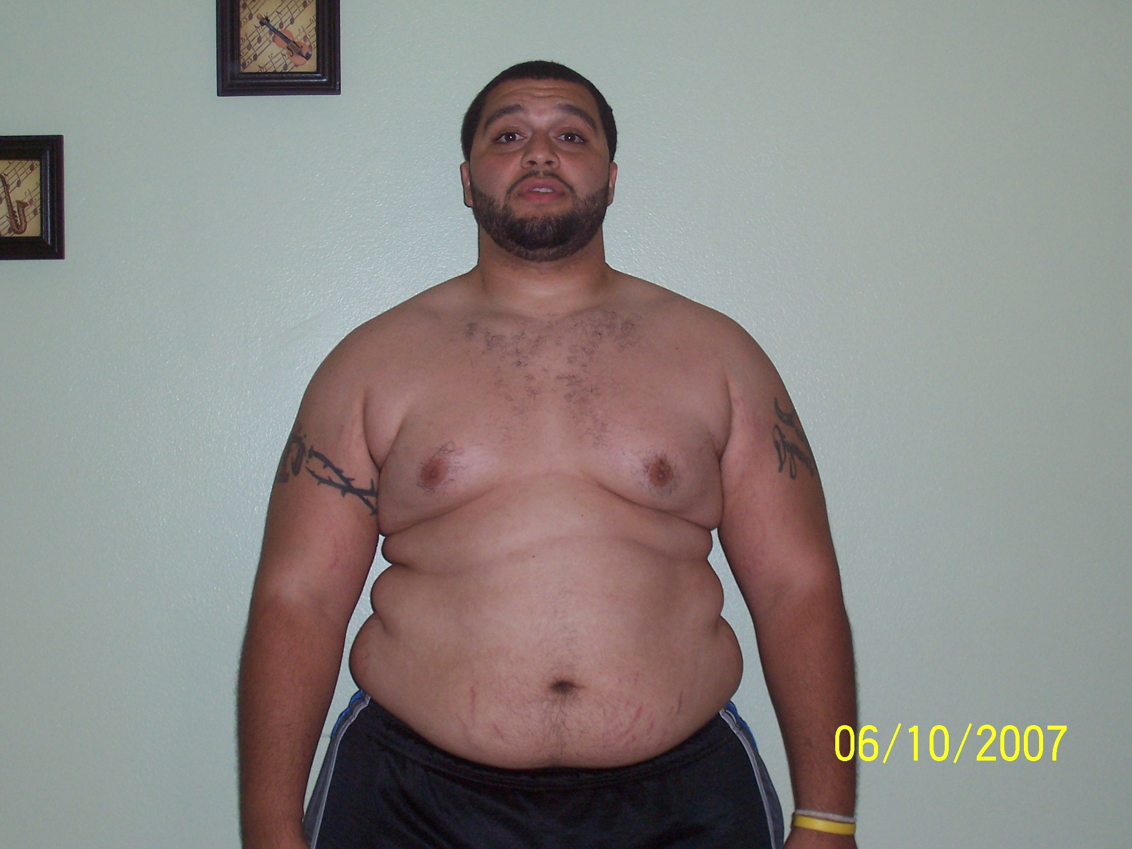 Fat Guy Shirtless 15