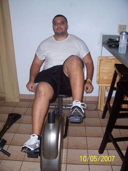 Recumbent Bike Training HIIT