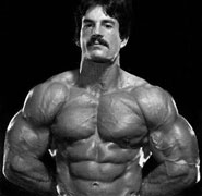 Mike Mentzer's Heavy Duty Relaxed Posed