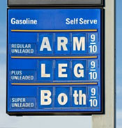 High Gas Prices Risig