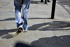 Walking on Pavement for Exercise