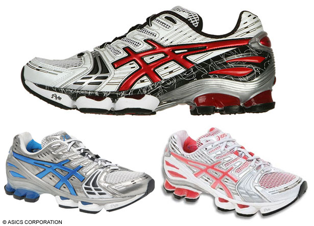 asics kinsei running shoes
